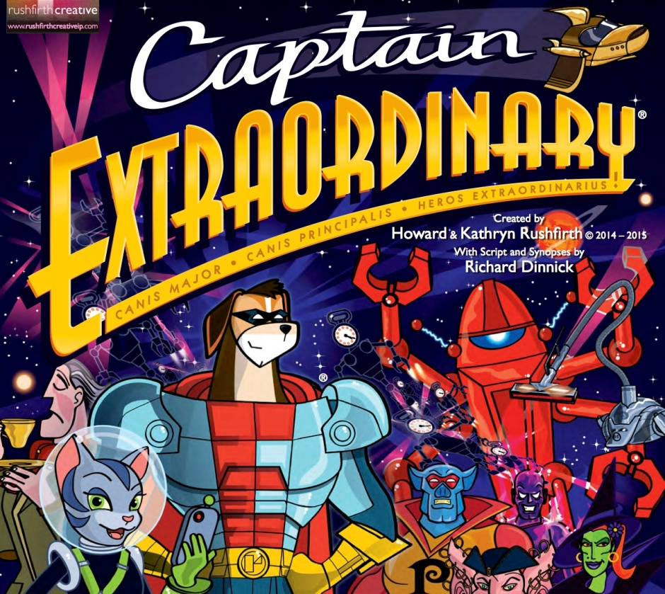 Richard is Head Writer on new project, Captain Extraordinary
